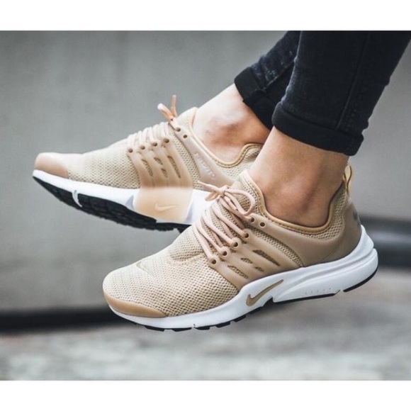 Women s Nike Air Presto Oatmeal Sneakers c9f5ab2edd